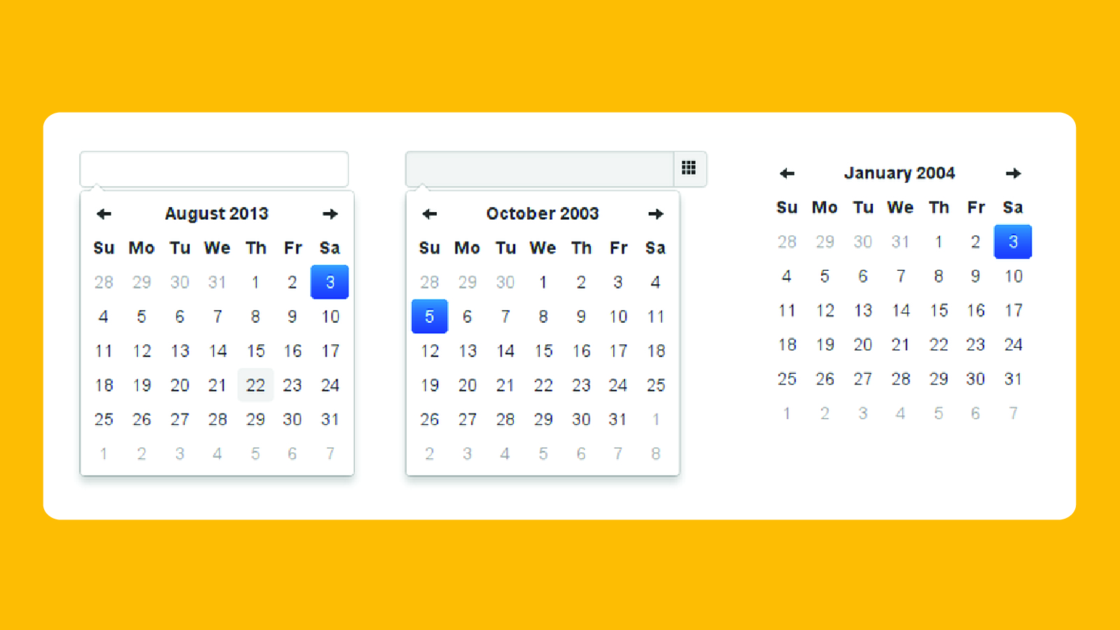 Download Bootstrap Datepicker Js And Css - UXZC